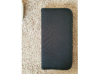New Pullman black canvas CD or DVD holder, case or wallet