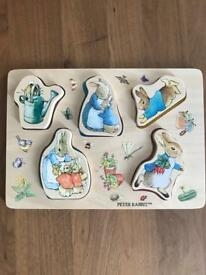 Peter Rabbit jigsaw