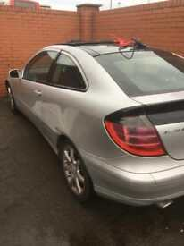 Mercedes c180 c200 Breaking for Spares Parts Silver