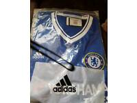 Chelsea football shirt home and away, new