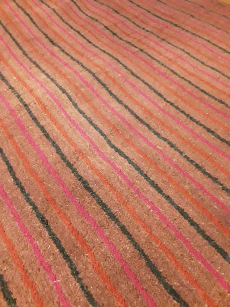 dark green bright pink and orange striped rug  mm x mm  - dark green bright pink and orange striped rug  mm x mm  inswansea  gumtree