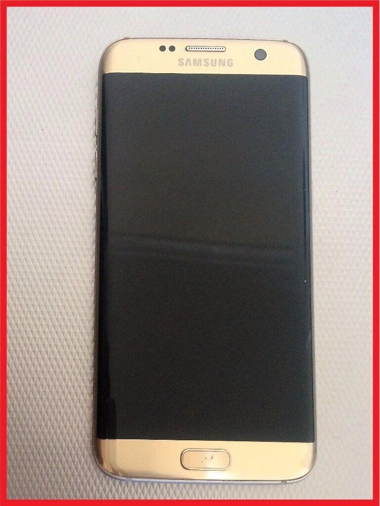 Samsung S7 Edge Gold Platinum UNLOCKED