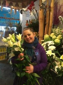 Full time experienced florist