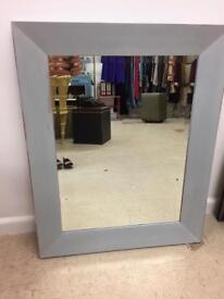 **LARGE BEVELLED GLASS MIRROR**