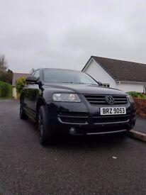 VW Touareg 3.0 Altitude 2006 Black