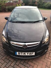 Vauxhall CORSA 2014 Limited Edition, 1.2, ONLY 23,000 miles, Full Service History