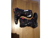Sidi Vortice motor cycle race boot size 9 euro 43