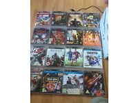 PS3 slimline 160gb 16 games two Sony wireless controllers and charging station