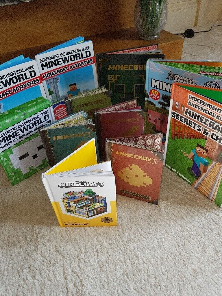 large selection of minecraft books | in Forfar, Angus | Gumtree