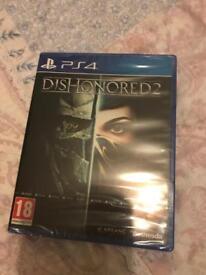 PS4 Dishonoured 2 New Sealed
