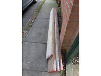 scaffold boards, planks