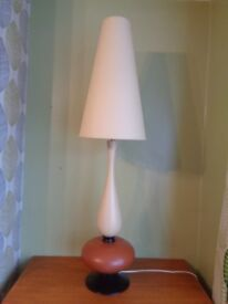 Vintage 70's Louis Drimmer Tall Table Lamp