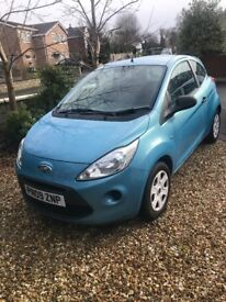 Ford Ka (2009) in very good condition. Low insurance and low road tax. 2 previous female owners.