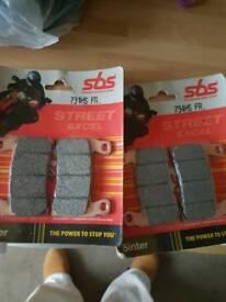 Brake pads sbs