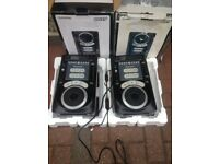 1 PAIR NUMARK AXIS 9 DJ CD PLAYERS LOTS OF FACILITIES GRAB A BARGAIN START YOUR DJ CAREER