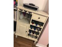 Solid Wood Wine Unit / Cabinet
