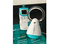 Angelcare baby monitor and groegg thermometer
