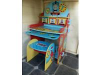 Thomas desk and stool