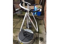 Cross trainer and body slimmer