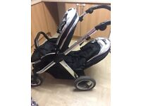 Oyster Max 2 double tandem pushchair 6months old!!
