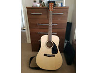 Fender CD60 NAT guitar