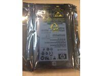 HP 500Gb 6G hard drive with caddy