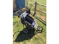 Out and About Nipper Double buggy pushchair