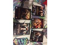 All Twilight DVD's