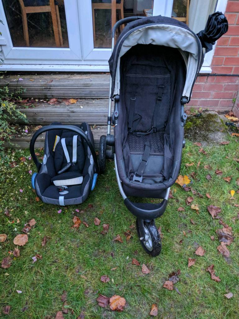 Mothercare My3 travel system including Maxi-cosi car seat