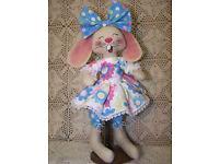 LCC217Primitive~ Abby ~Folk Art Raggedy Doll~LCC217~ Pattern~EB