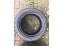 4 x tyres (215/55/16 and 225/55/16) wanli s1088