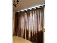 LOUNGE CURTAINS with FREE MATCHING CUSHIONS