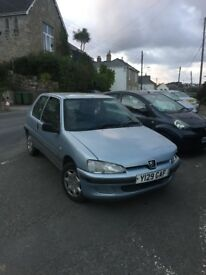PEUGEOT 106 , SELLING AS IS £200 ONO