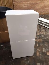 White cabinet from next