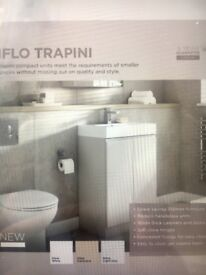 Iflo Bathroom Vanity & Basin (Brand New/Unused)
