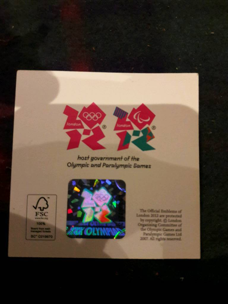 2012 oympic medallion