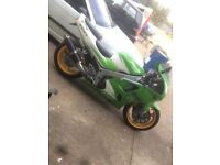 1996 Kawasaki 600. 1000 if gone today