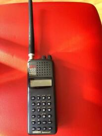 Twin turbo 100 channel 9 band radio scanner