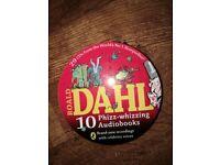 Roald Dahl audio book collection
