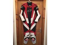 Alpinestars one piece leather race suit (may SWAP)