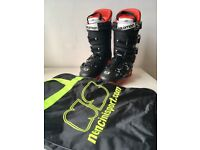 Salomon X Max 100 Moldable Ski Boots (Size 26.5/EU 42) - Great Condition, Used Once!