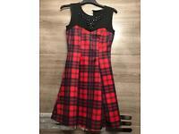 scottish mini dress