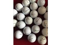 100 Taylormade golf balls