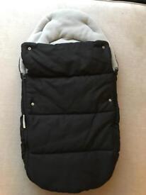 Car seat footmuff winter cover