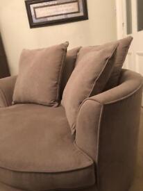 Snuggled Chair