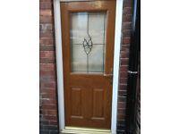 Composite External Door (Double Glazed)