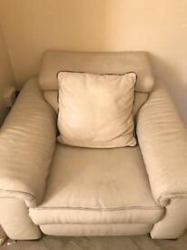 Max divine large corner sofa and sensor recliner