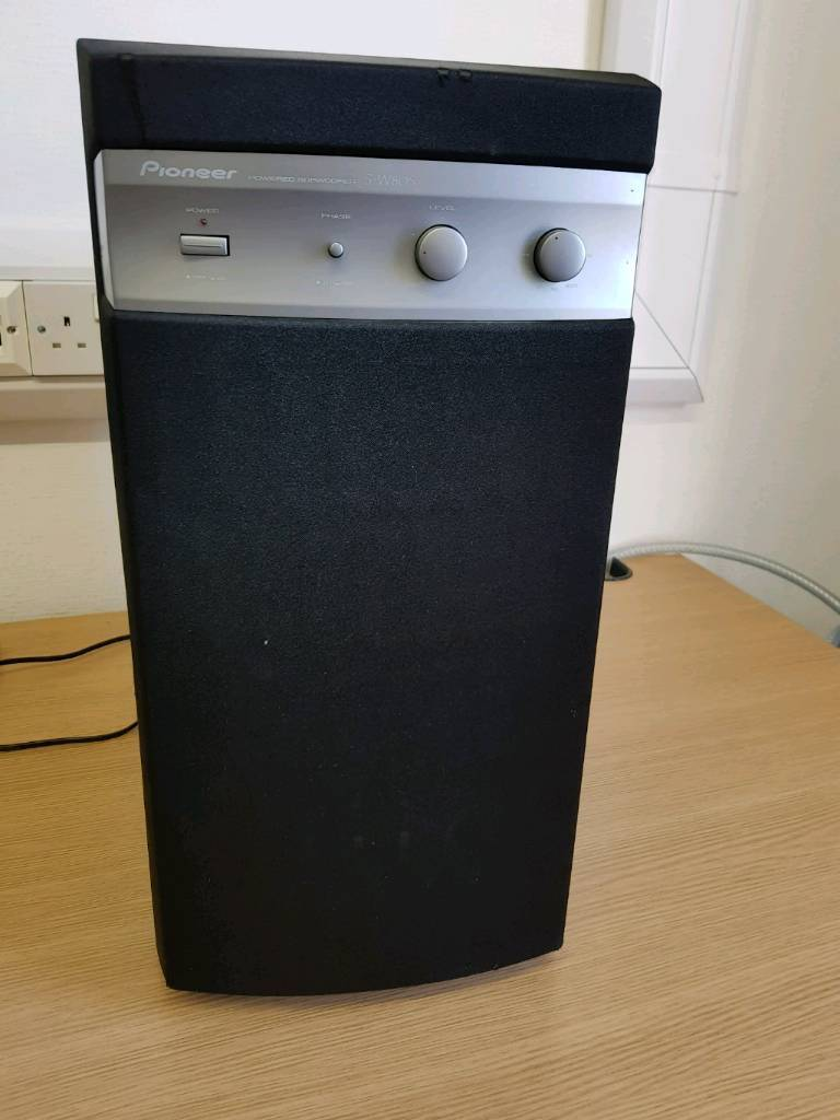 Pioneer sw80 active subwoofer home cinema | in East Boldon, Tyne and Wear |  Gumtree