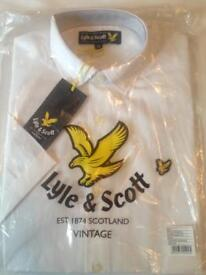 3 X LYLE & SCOTT SHORT SLEEVED SHIRTS