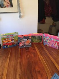 Buddle of four puzzles and games